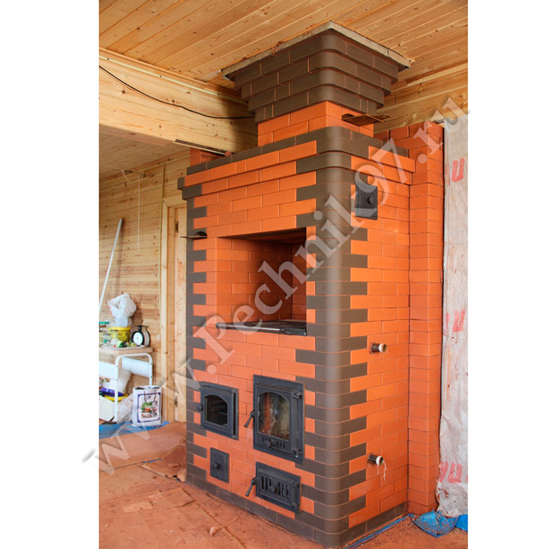 Отопительные печи для дачи и дома на дровах своими руками